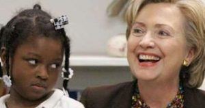 clinton-skeptical-black-girl